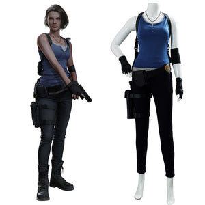 Jill Valentine Resident Evil 3: Remake Outfit Cosplay Costume