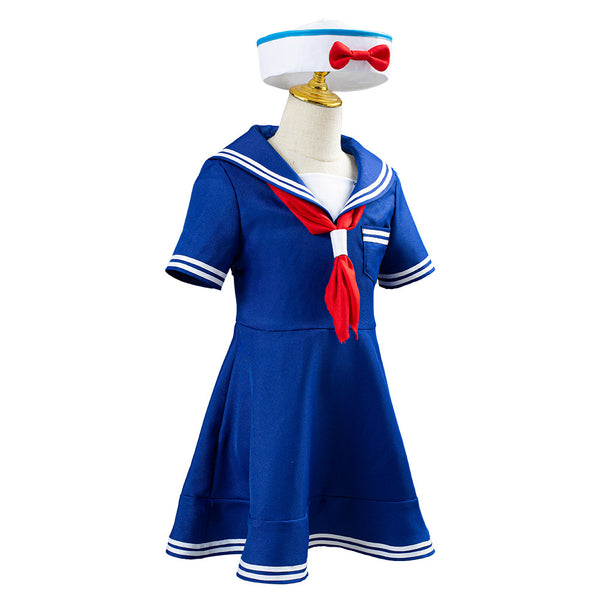 Shellie May Bear Shelliemay Uniform Dress Halloween Carnival Costume Cosplay Costume for Kids Chidren