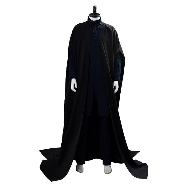 Harry Potter Severus Snape Robe Suit Cosplay Costume