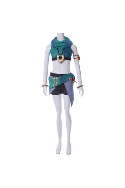 League of Legends LOL Zoe Aspect of Twilight Outfit Cosplay Costume