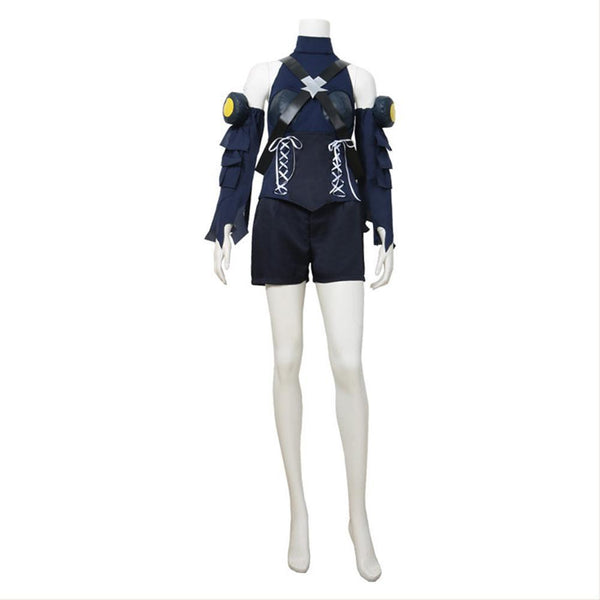 Kingdom Hearts III Aqua Cosplay Costume