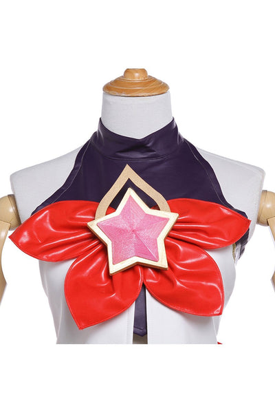 League of Legends LoL Star Guardian Jinx Outfit Cosplay Costume