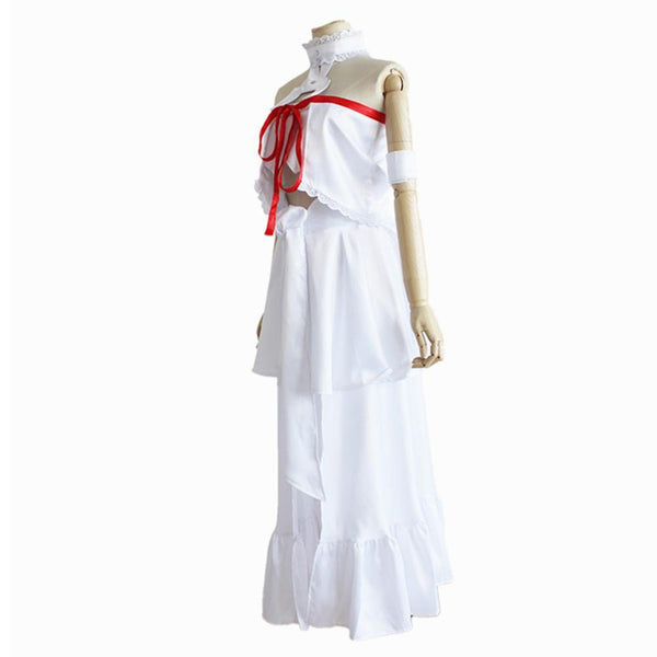 Sword Art Online Asuna Yuuki Asuna Dress Cosplay costume