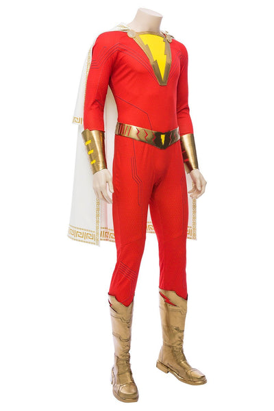 2019 Movie Shazam Billy Batson Outfit Cosplay Costume Version Two