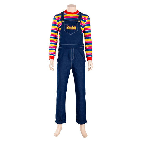 Child's play Chucky Adult Cosplay Costume
