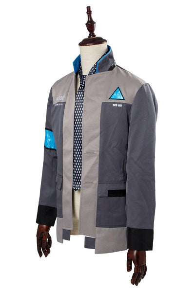 Detroit: Become Human Connor RK800 Deviant Hunter Agent Uniform Police Investigator Suit