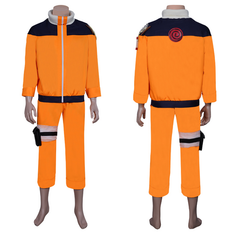 NARUTO Top Pants Outfit Naruto Uzumaki Halloween Carnival Suit Cosplay Costume