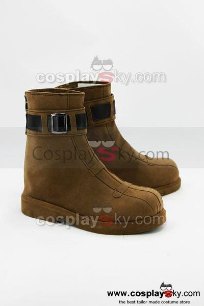 Eiyuu Densetsu Ao no Kiseki Noel Seeker Cosplay Shoes Boots Custom Made