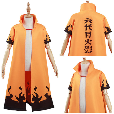 NARUTO 6th Hokage Kids Cloak Coat Hatake Kakashi Halloween Carnival Suit Cosplay Costume