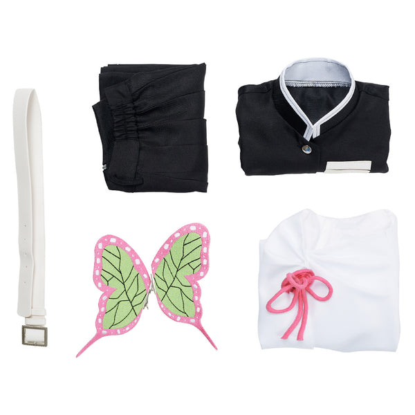 Demon Slayer Halloween Carnival Suit Tsuyuri Kanawo Uniform Outfit Cosplay Costume for Kids Children