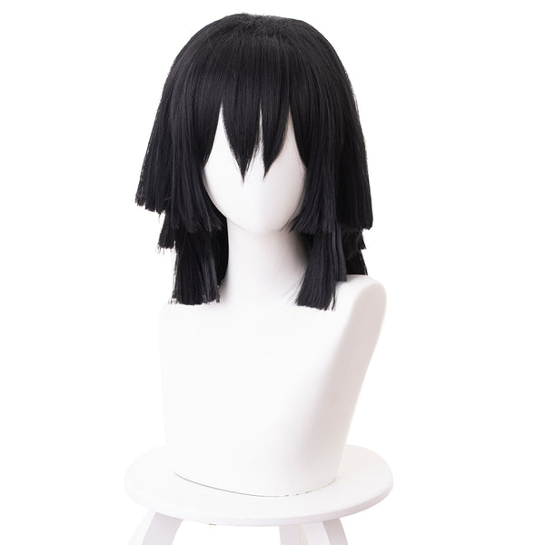 Demon Slayer Iguro Obanai Cosplay Wig