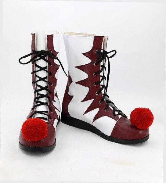 2017 IT Movie Pennywise The Clown Boots Cosplay Shoes