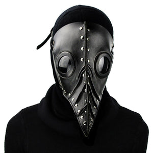 Halloween Plague Doctor Long Birds Doctor Prom Mask Cosplay Mask Steam Punk Decoration-Fandomsky