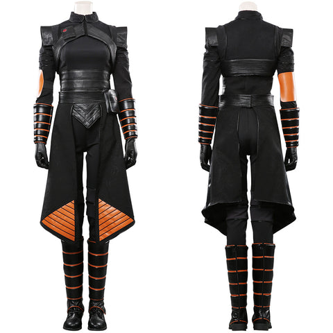 Star Wars Mandalorian Outfit Fennec Shand Halloween Carnival Costume Cosplay Costume