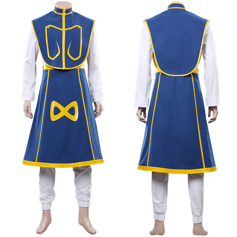 Anime HUNTER×HUNTER Top Skirt Outfit Kurapika Juvenile Halloween Carnival Costume Cosplay Costume
