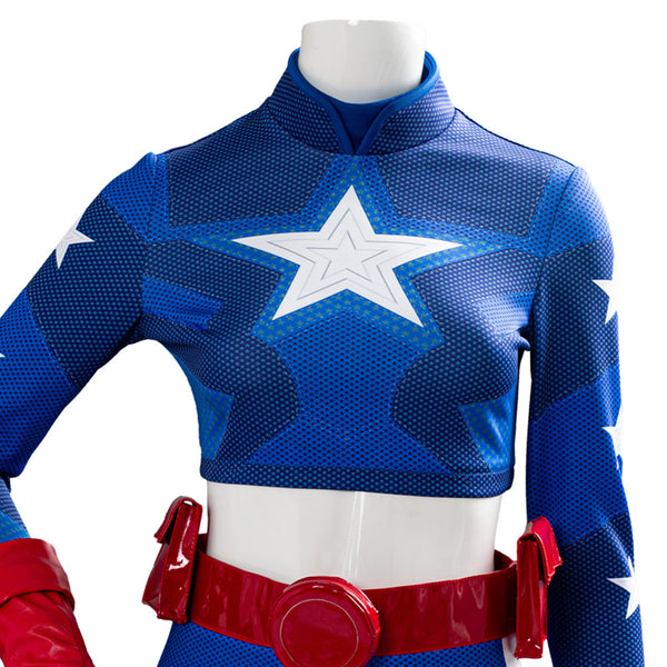 Courtney Whitmore Stargirl Cosplay Costume Halloween Top Shorts Outfit