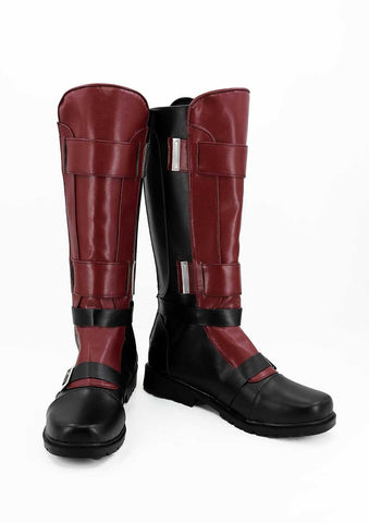 Marvel Deadpool Wade Wilson Cosplay Shoes