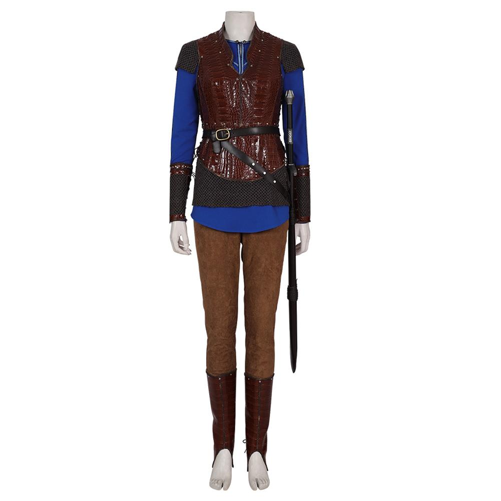 TV Vikings Queen Lagertha Cosplay Costume
