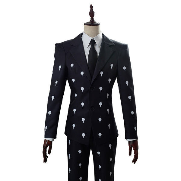 JoJo's Bizarre Adventure Golden Wind Bruno Bucciarati Slim Fit Funeral Cosplay Costume