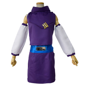 NARUTO Kids Girls Ninja Uniform Outfit Ino Yamanaka Halloween Carnival Suit Cosplay Costume