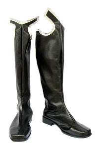 Kingdom Hearts II Xigbar Cosplay Boots Black