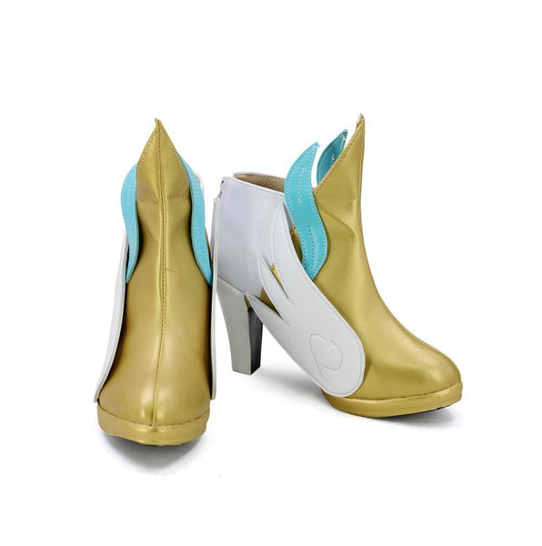 League of Legends Soraka Star Guardian Cosplay Shoes Boots