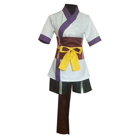 Hunter x Hunter Uniform Outfit Machi Halloween Carnival Costume Cosplay Costume