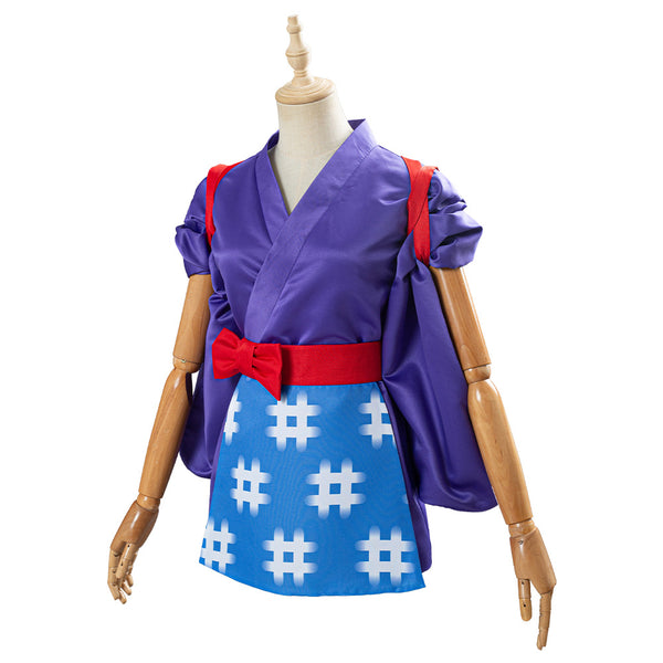 Daisy Mae Women Kimono Outfit Game Animal Crossing Cosplay Costume Halloween Carnival Costume