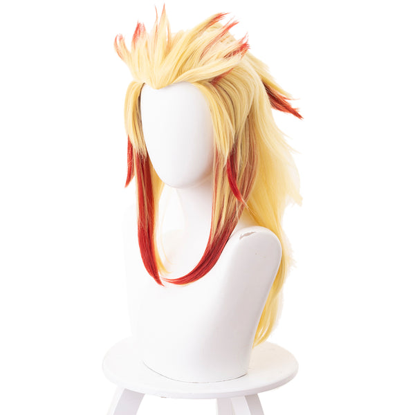 Demon Slayer Rengoku Kyoujurou Cosplay Wig