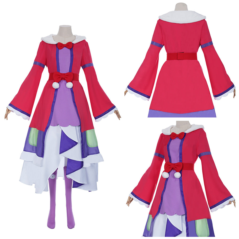 Anime Sleepy Princess in the Demon Castle/Maoujou de Oyasumi Aurora Suya Rhys Kaymin Cosplay Costume Halloween Carnival Outfit