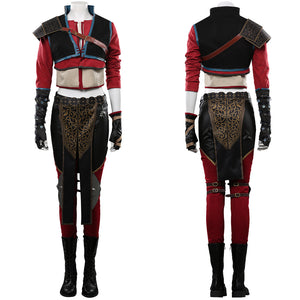 The Witcher 3 Outfit Ciri Halloween Carnival Costume Cosplay Costume