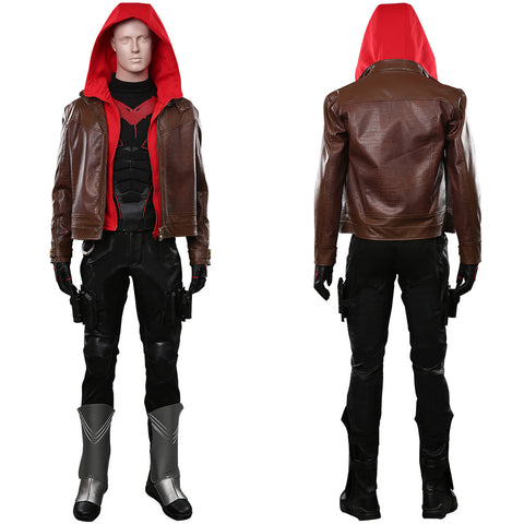 Titans Season 3 Outfit Jason Todd/Red Hood Halloween Carnival Costume Cosplay Costume