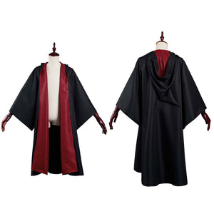 Harry Potter Gryffindor Magic Gown Robe Cosplay Costume Halloween Carnival Suit