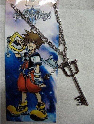 Kingdom Hearts Anime Sora Key Pendant Necklace