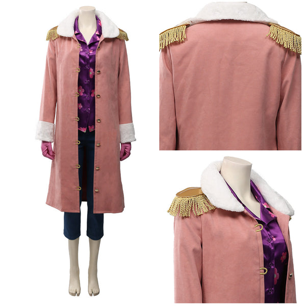 One Piece:Pirate Warriors 4 Halloween Carnival Costume Tashigi Cosplay Costume