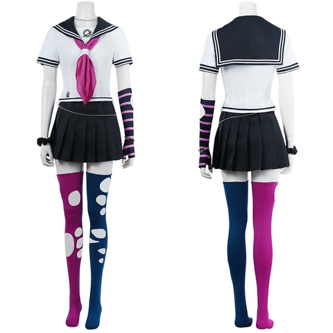 Super Danganronpa 2 School Uniform Dress Outfit Ibuki Mioda Halloween Carnival Suit Cosplay Costume