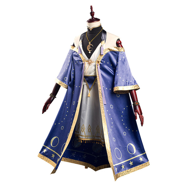 Game Twisted-Wonderland Dress Vest Outfit Deuce/Idia/Trey Halloween Carnival Suit Cosplay Costume