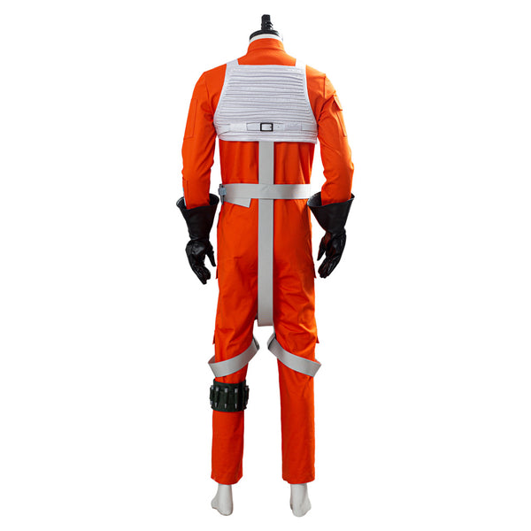 X-WING Rebel Outfit Pilot Jumpsuit Star Wars Uniform Cosplay Costume