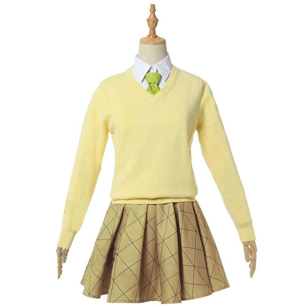 Demon Slayer Kochou Shinobu School Uniform Cosplay Costume