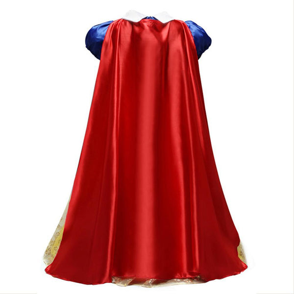 Baby Girl Toddler Snow White Dress Halloween Cosplay Costume
