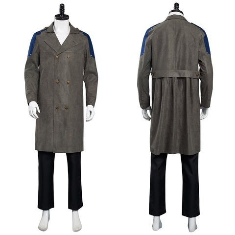 The Watch Coat Sam Halloween Carnival Suit Cosplay Costume