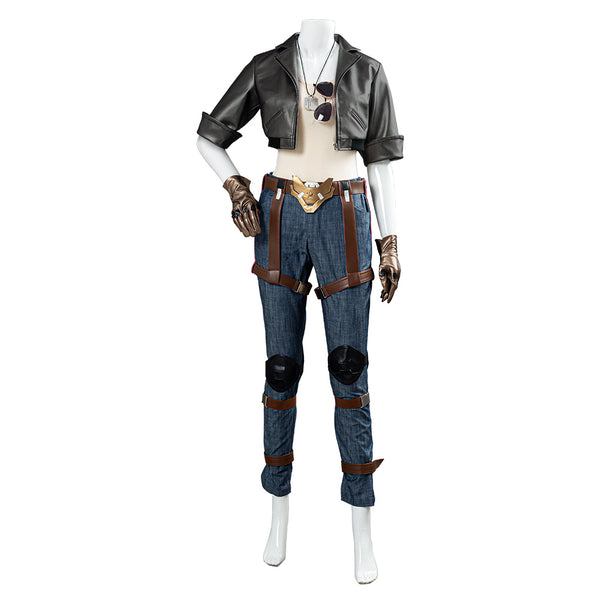Overwatch OW Pharah Fareeha Amari Skin Outfit Cosplay Costume Halloween Carnival Costume