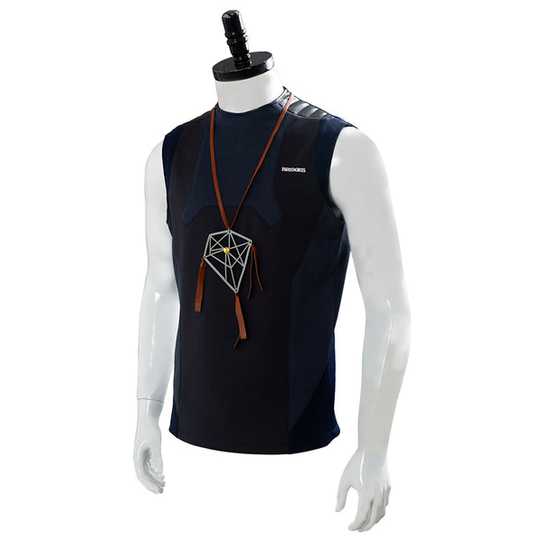 Death Stranding Sam Porter Bridges Dream Catcher Necklace Nomad Restroom Vest Cosplay Costume
