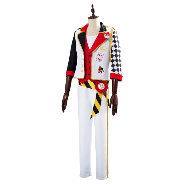 Twisted-Wonderland Game Alice in Wonderland Theme Cater Halloween Uniform Outfits Cosplay Costume