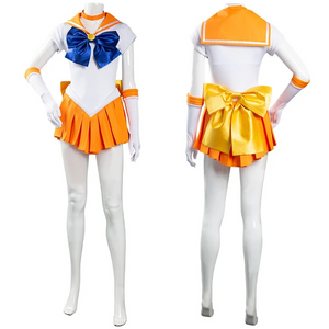 Sailor Moon Uniform Dress Outfit Minako Aino Halloween Carnival Suit Cosplay Costume