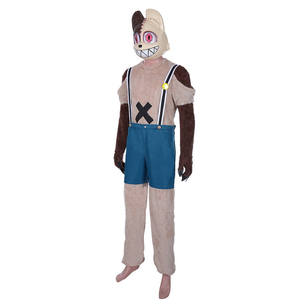 Anime Gleipnir Shuuichi Kagaya Cosplay Costume Men Jumpsuit Halloween Carnival Outfits