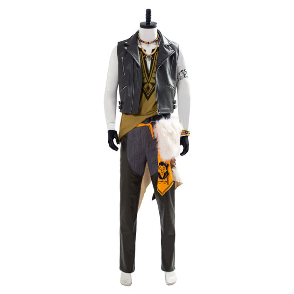 Twisted Wonderland Leona Kingscholar Outfit Halloween Cosplay Costume