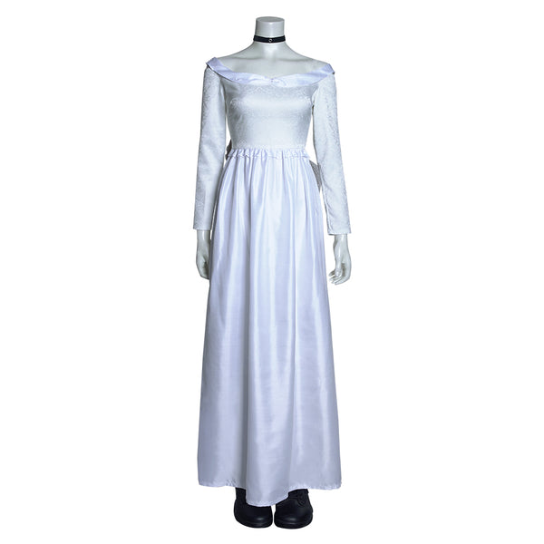 Bride of Chucky Long Dress Tiffany Halloween Carnival Suit Cosplay Costume