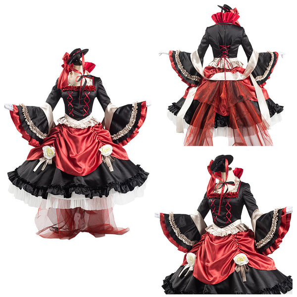 Identity V Bloody Queen Dress Outfit Mary Halloween Carnival Suit Cosplay Costume