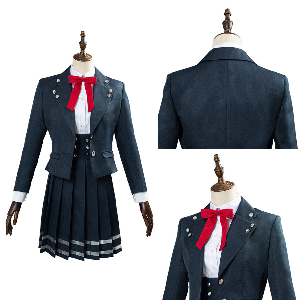 Danganronpa V3 School Uniform Skirts Outfit Shirogane Tsumugi Halloween Carnival Costume Cosplay Costume